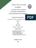 Act. Colaborativa - II Unidad