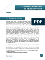 c. La Educacion Virtual