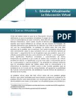 c. La Educacion Virtual
