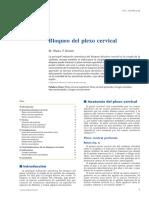 Plexo Cervical - Bloqueo