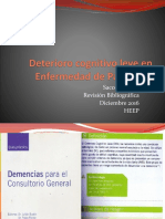 Deterioro Cognitivo Leve en Enfermedad de Parkinson