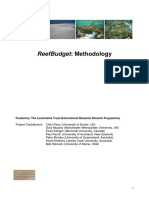 ReefBudget Methodology