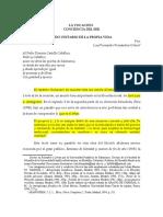 LA VOCACIÓN  Dr  Luis Fernando Fernández Ochoa   rev jfmo julio 27