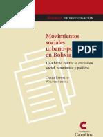 Movimientos Sociales Urbano Populares en Bolivia