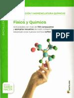 Formulación y Nomenglatura Químicas 1º BAC