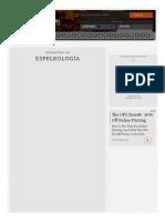 Definición de Espeleología - Qué Es, Significado y Concepto
