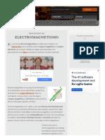 Definición de Electromagnetismo - Qué Es, Significado y Concepto