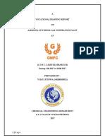 ASGP Training Report