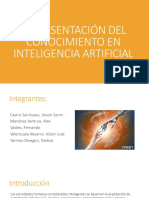 Representación Del Conocimiento en Inteligencia Artificial
