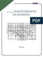 Apostila Para Dimensionamento de Bombas