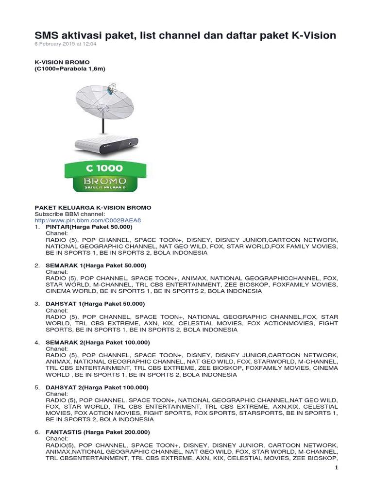 Jual Paket Sport Kvision C Band Bromo Termurah 2018 Mdl 038g Digital Voltmeter 036 Dc 47v 32v 2 Kabel Nyala Biru Sms Aktivasi 2016