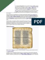 Biblia Historia