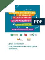 Ecuador Bases 2 Edicion Premio Ddhh