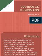 LOS TIPOS DE DOMINACIÓN.pptx