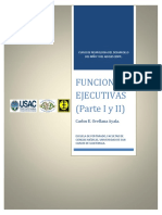 Funciones Ejecutivas (I y II) Carlos Orellana