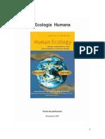 Capitulos Especiales Del Libro - Ecología Humana-PDF