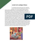 La Vida Social en La Antigua Roma