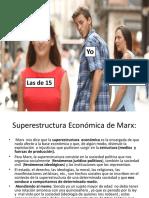 superestructura economica de marx