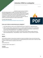 Luisrodriguez.pe-libreria Para Mantenimientos CRUD en Codeigniter