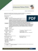 Contrataciones Públicas PDVSA 29-05-2015