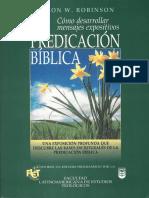 La Predicación Biblica - Haddon W. Robinson.pdf