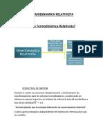 Termodinamica Relativista Word