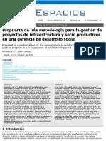 Gerencia Social de Proyectos