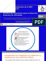 KDIGO 2012 y pruebas de Laboratorio para Dx Nefropatia.pptx