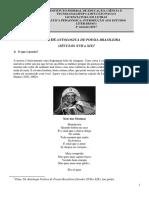 L2IL1 Apostila Prática Pedagógica Introdução Aos Estudos Literários I 2017 IFSP