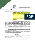 Escrito-solicito-dicte Auto de No Ha Lugar-2017