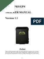 Gps102 User Manual v1.1-160106