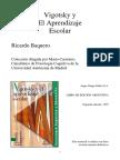 (LA MEDIASION SEMIOTICA EN) Vigotsky y El Aprendizaje Escolar.pdf