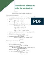 Generalización  de Variación de parametros y edo Cauchy-Euler.docx