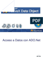 ActiveX Data Object ADO.net