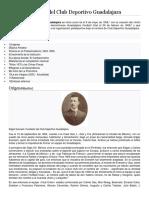 Historia Del Club Deportivo Guadalajara