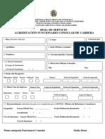 Acreditación de Funcionarios Consulares en Venezuela