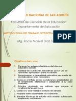 Metodologia Del Trabajo Intelectual Universitario