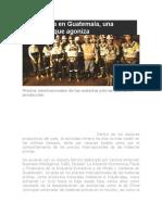 La Minería en Guatemala