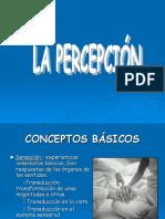 PSICOLOGIA - Trabajo de La Percepcion