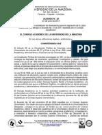 Acuerdo 29 - Lineamientos Para La Asignacion de La Labor Academica y Se Deroga El Acuerdo No. 51 de 2011
