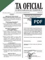 Gaceta Oficial Tarifas Bolipuertos