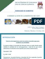 5. Conservación Por Secado