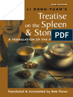 Li Dong-yuan's - Treatise on the Spleen and Stomach