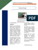 PROYECTO- TUTORÍA GRUPAL