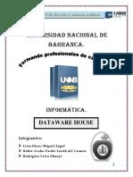 DATAWARE HOUSE Trabajo Monografico de Informatica