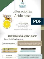 Alteraciones Acido-Base