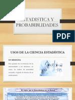 Estadistica y Probabiblidades