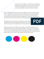 The CMYK Color Model
