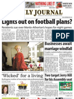 08-16-10 issue of the Daily Journal