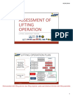 assessment of Lifting Operation